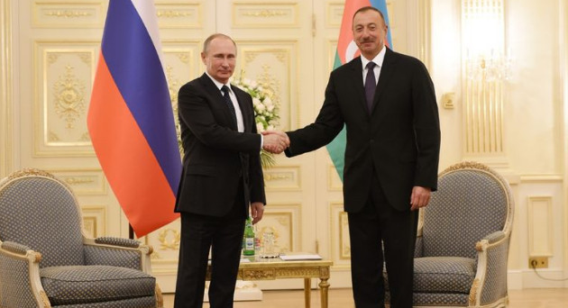 Prezidenti İlham Əliyev Vladimir Putini təbrik edib
