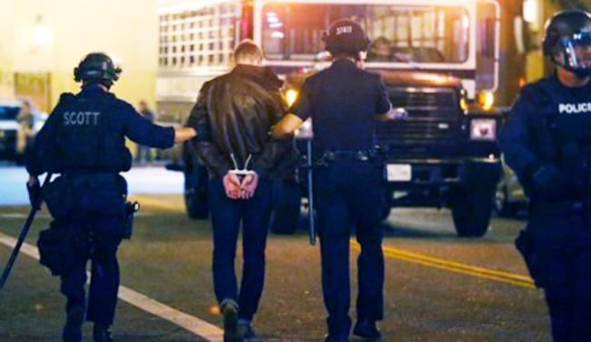Amerika polisi - ABŞ