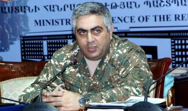 Ermənistan müdafiə nazirliyinin rəsmi nümayəndəsi Artsrun Ovannisyan