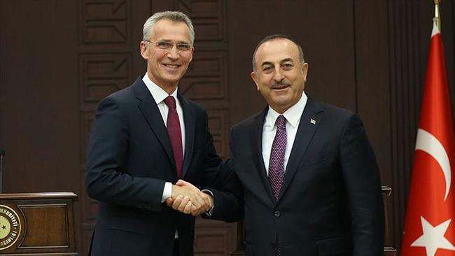 Yens Stoltenberq və Mövlud Çavuşoğlu