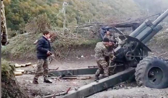 Erməni ordusunda uşaqlar