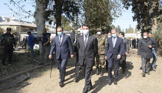 Gence - diplomatlar korpusu