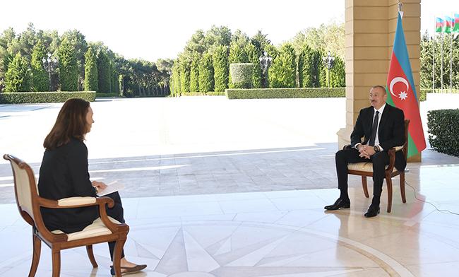 """İlham Əliyev - """"France 24""""ə müsahibə"""