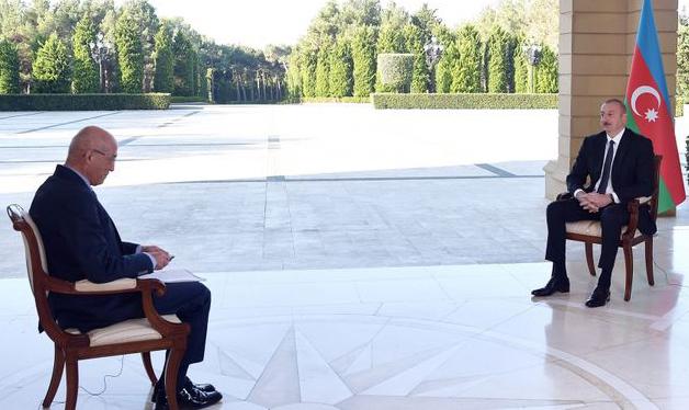Ilham Aliyev - Türkiyənin NTV