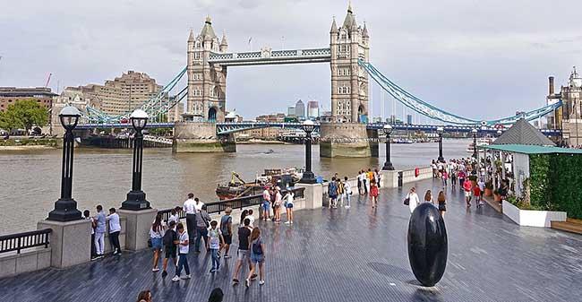 London - Vestministr körpüsü