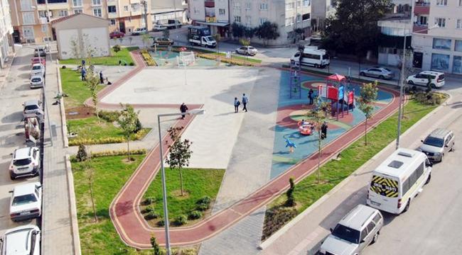 Buyrsa - Polad Həşimov parkı