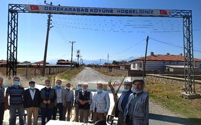 Türkiyədə Dərə Qarabağ kəndi
