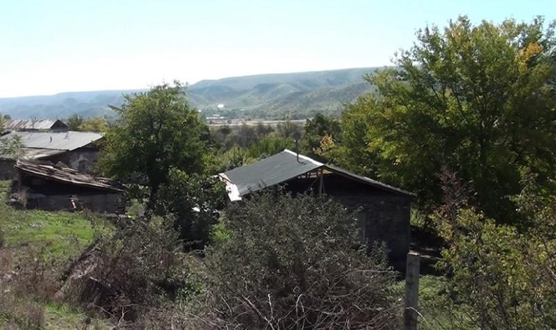 Qubadlı rayonunun işğaldan azad olunan kəndlərinin görüntüsü - Video