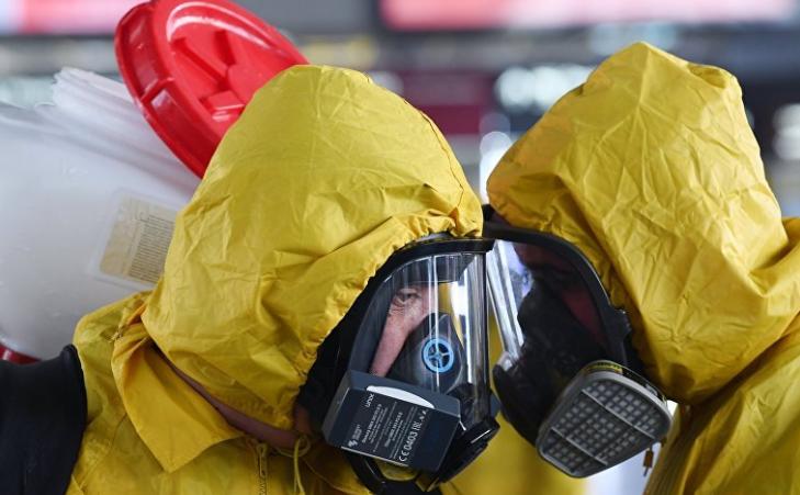 Karantin koronavirus maska dezinfeksiya