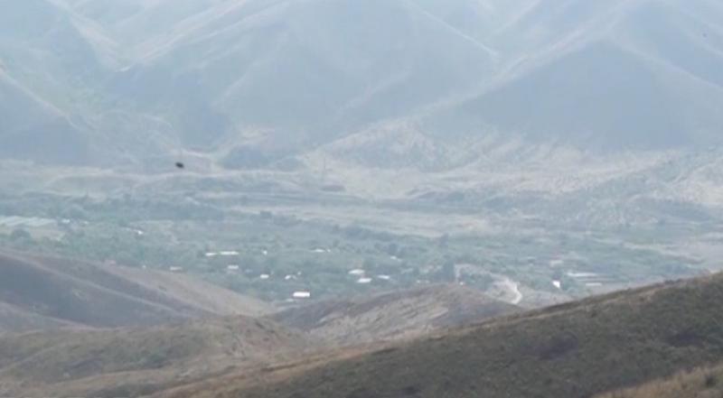 Müdafiə Nazirliyi işğaldan azad olunan Suqovuşan kəndinin videogörüntüsünü yayıb - Video