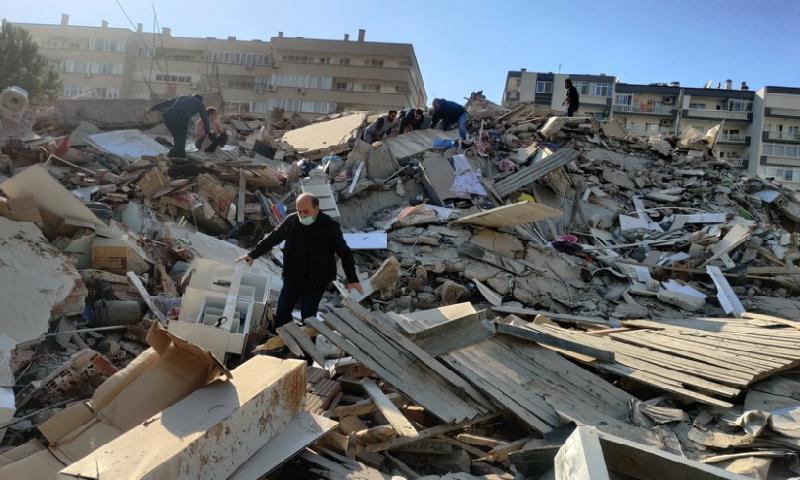Türkiyədə zəlzələdə 4 nəfər ölüb, 120 nəfər yaralanıb