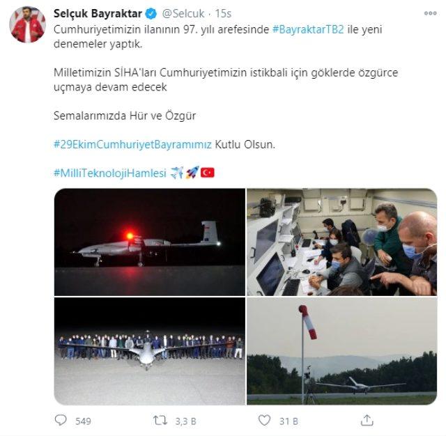 Bayraktar yeni dronları sınaqdan keçirdi - Foto