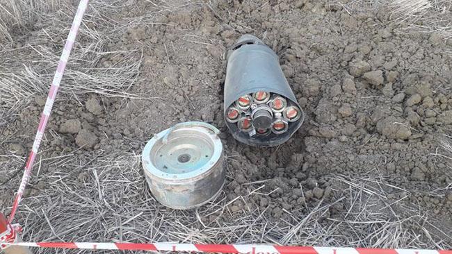 """TOÇKA-U"""" raketi - kaset bomba"""
