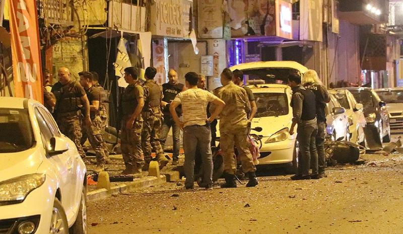 Türkiyədə antiterror əməliyyatı zamanı partlayış baş verib