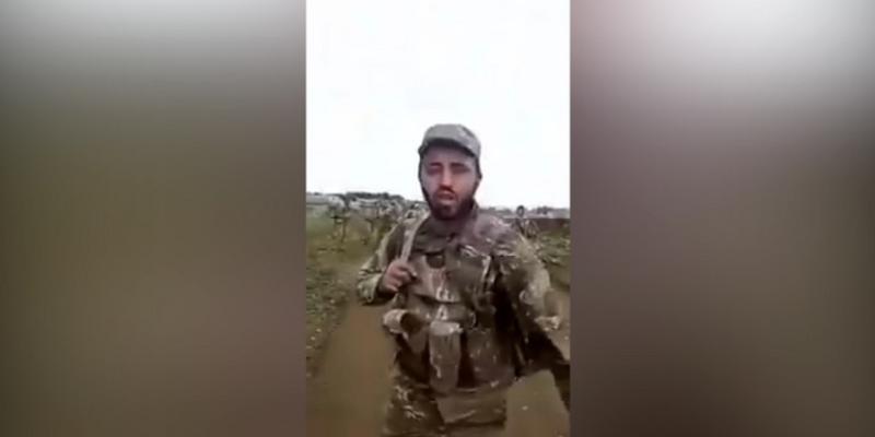 Erməni hərbçiləri arasında qarşıdurma ən yüksək həddə çatıb - Video