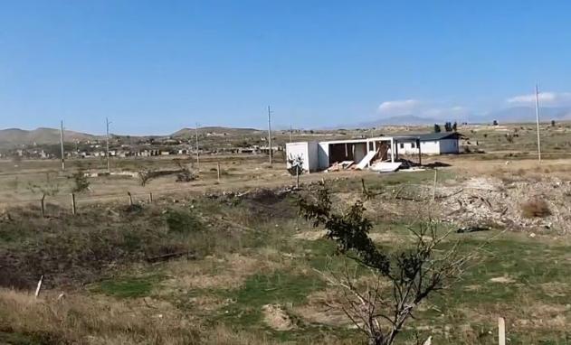 Cəbrayıl və Zəngilan rayonlarının işğaldan azad olunan kəndlərinin görüntüsü - Video