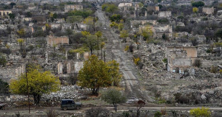 Ağdam şəhəri Ermənistanın işğalından sonra