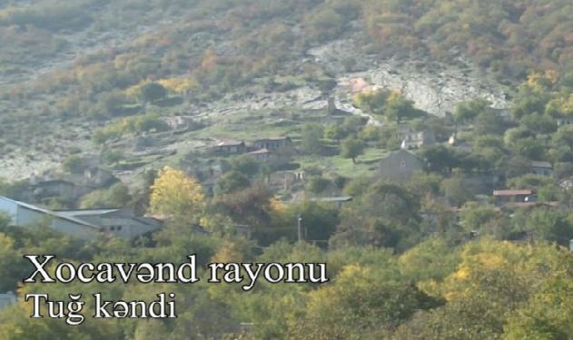 Xocavənd rayonunun Tuğ kəndi
