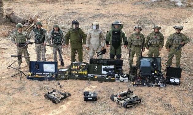 Türkiyə ordusunun minaaxtaranları işğaldan azad edilmiş Azərbaycan torpaqlarında əməliyyatlara başlayıb