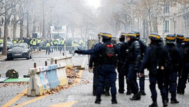 Fransa - Sarı jiletlilər