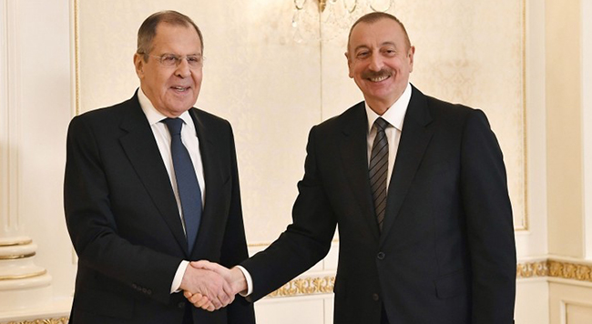 Ilham Əliyev - Lavrov