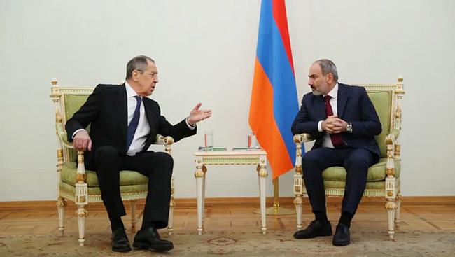 Lavrov - Pashinyan