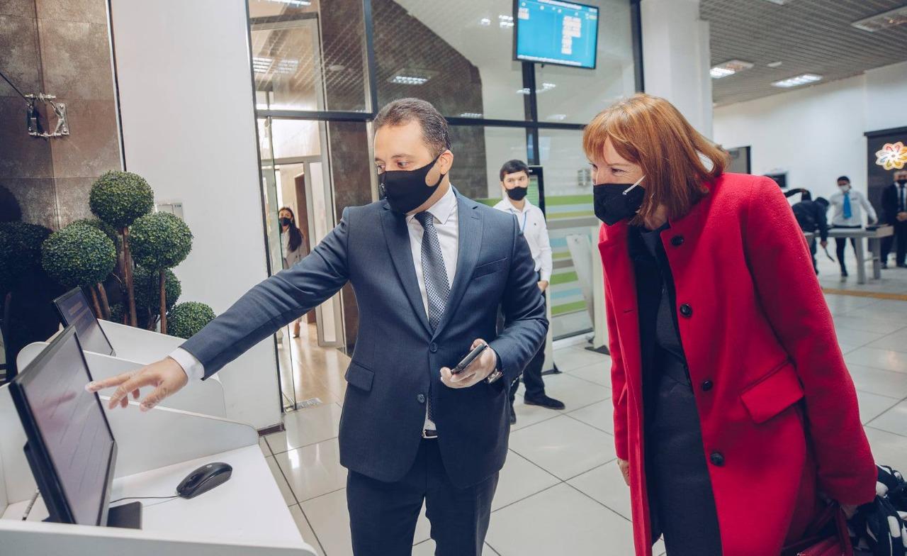 Dövlət Agentliyinin sədri GİZ-in nümayəndə heyəti ilə görüşüb