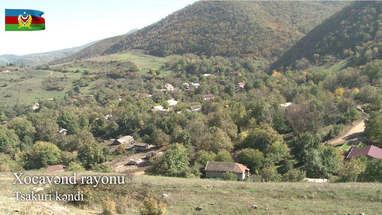 Xocavənd rayonunun Tsakuri kəndi