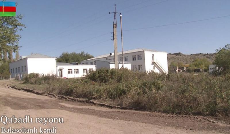 Qubadlının işğaldan azad olunan Balasoltanlı kəndi - Video