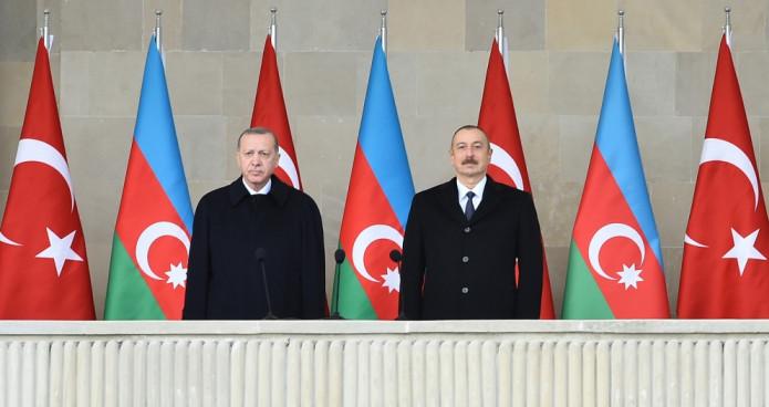 Rəcəb Tayyib Ərdoğan və İlham Əliyev