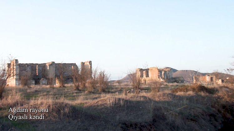 Ağdamın Qiyaslı kəndi
