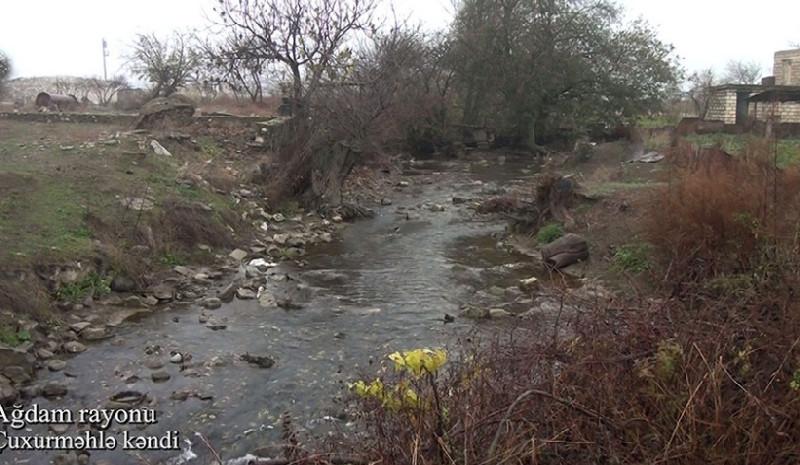 Ağdam rayonunun Çuxurməhlə kəndi