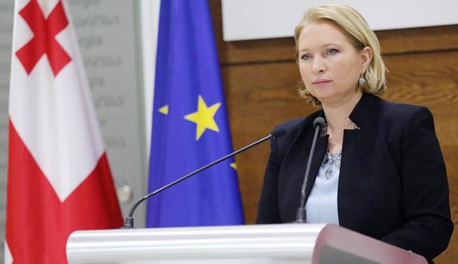 """Gürcüstanlı nazir: """"Avropa-Asiya nəqliyyat dəhlizinin artım potensialı aydın görünür"""""""