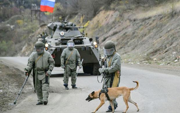 Rus sülməramlıları - mina axtaranlar