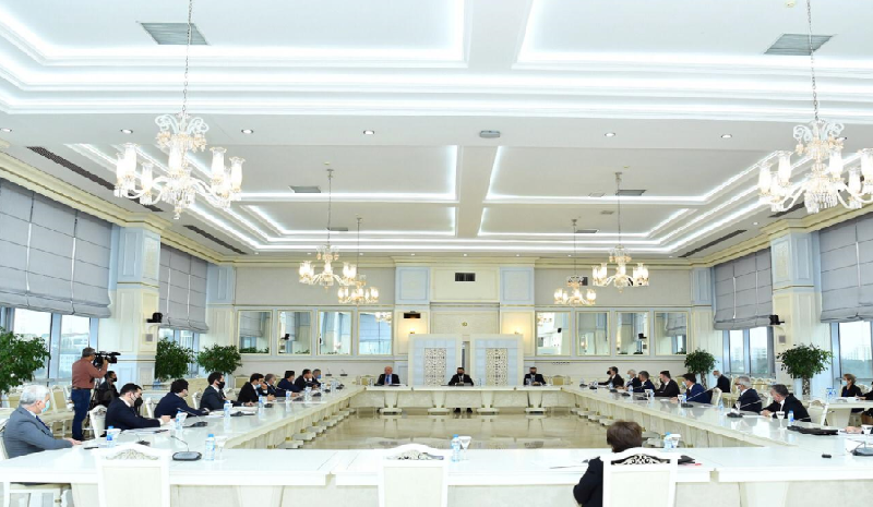 Milli Məclisin İqtisadi siyasət, sənaye və sahibkarlıq komitəsinin iclasında dörd məsələyə baxılıb