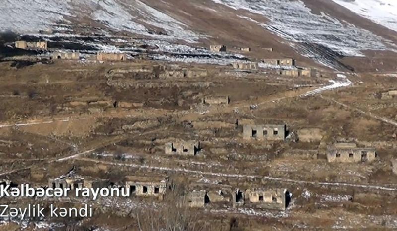 Kəlbəcər rayonunun Zəylik kəndindən videoreportaj