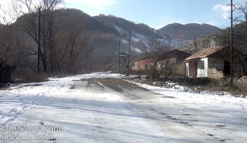 Kəlbəcərin Zülfüqarlı kəndi