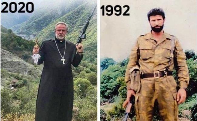 Erməni terrorçusu -  monastır rəhbəri