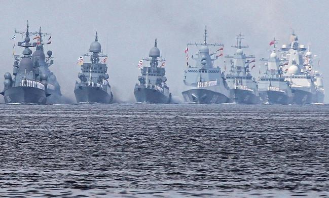 Rusiya donanması, hərbi gəmilər