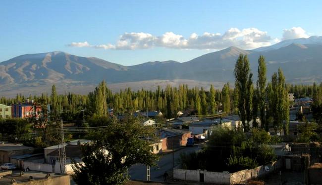 Ağrı dağı, Iğdırdan görüntü