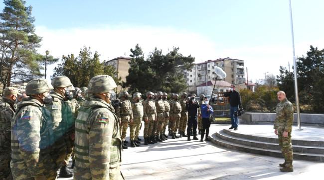 İlham Əliyev Şuşada