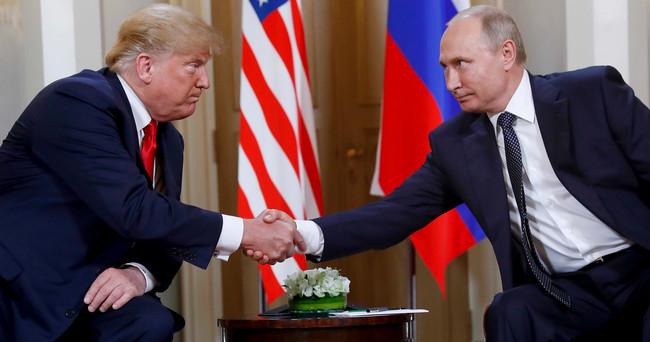 Donald Tramp və Vladimir Putin
