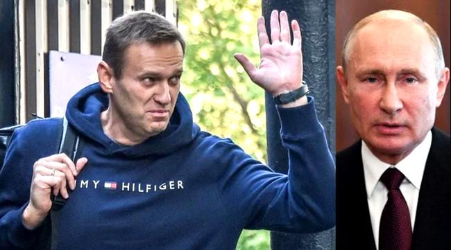 Aleksey Navalnı, Vladimir Putin