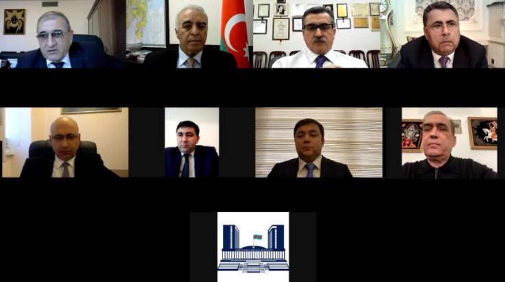 Milli Məclisin Aqrar Siyasət  Komitəsinin  2021-ci ilin yaz  sessiyasında  ilk iclası keçirilib