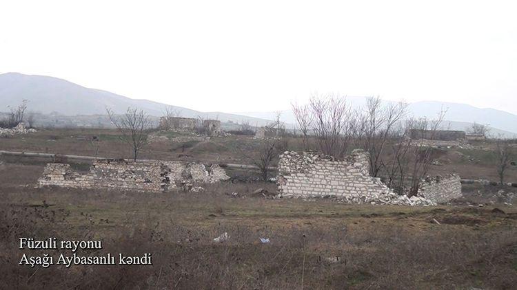Füzuli rayonunun Aşağı Aybasanlı kəndi