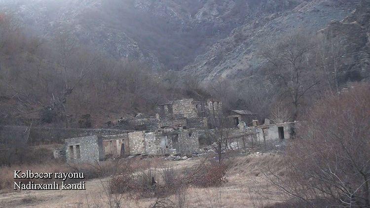 Kəlbəcərin Nadirxanlı kəndi