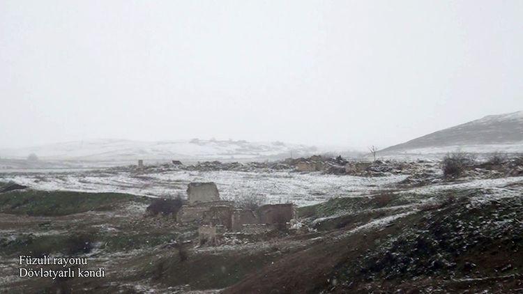 Füzuli rayonunun Dövlətyarlı kəndi