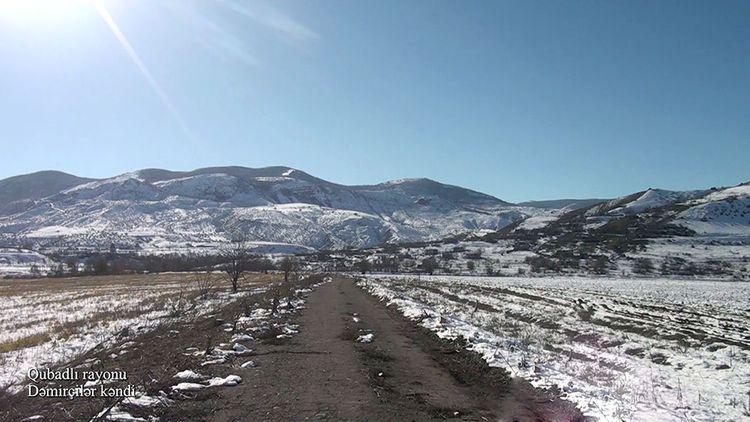 Qubadlının Dəmirçilər kəndi