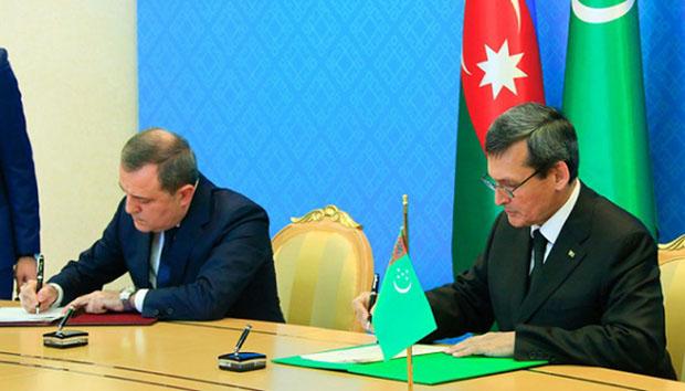 Azərbaycanla Türkmənistan - memorandum