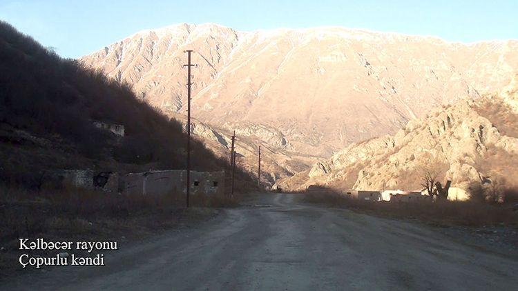 Kəlbəcərin Çopurlu kəndi
